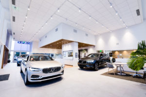 Niello Volvo building interior